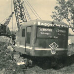 1953 Erster Bagger